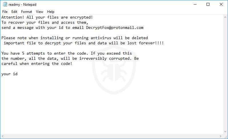 Kill Encr Ransomware (Crypto-Malware/Ransomware)