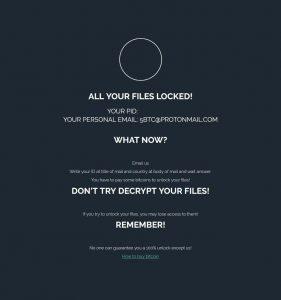 Delete GusLocker Ransomware (Crypto-Malware/Ransomware)
