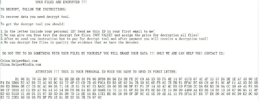 How to Wipe Out 0x4444 Ransomware (Crypto-Malware/Ransomware)