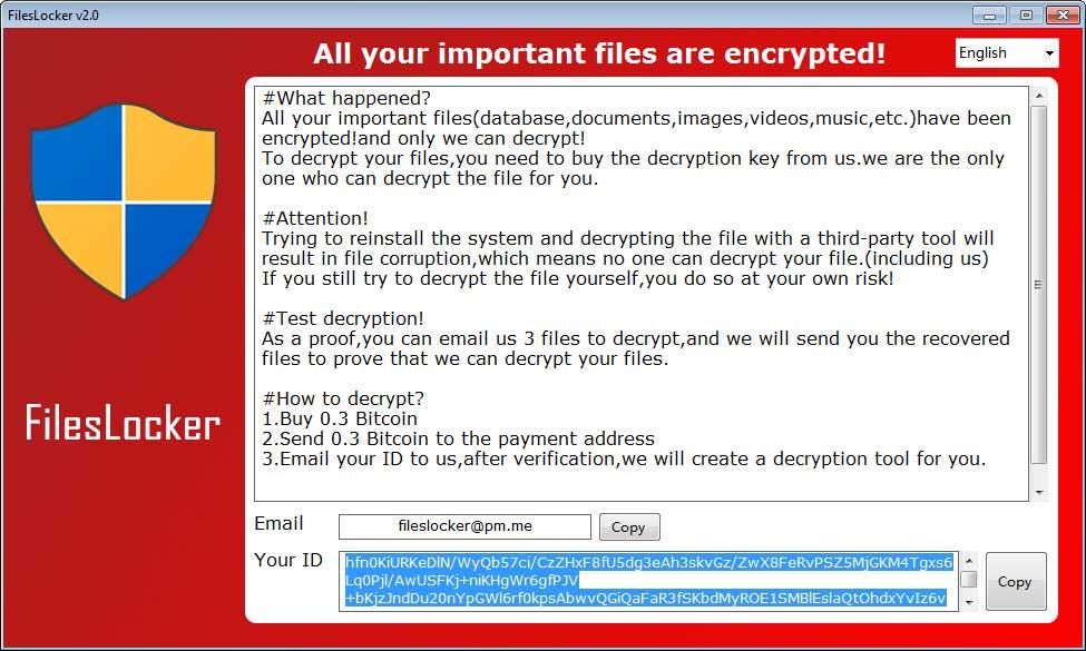Kill FilesLocker Ransomware (Crypto-Malware/Ransomware)