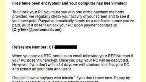 CryTekk Ransomware thumb