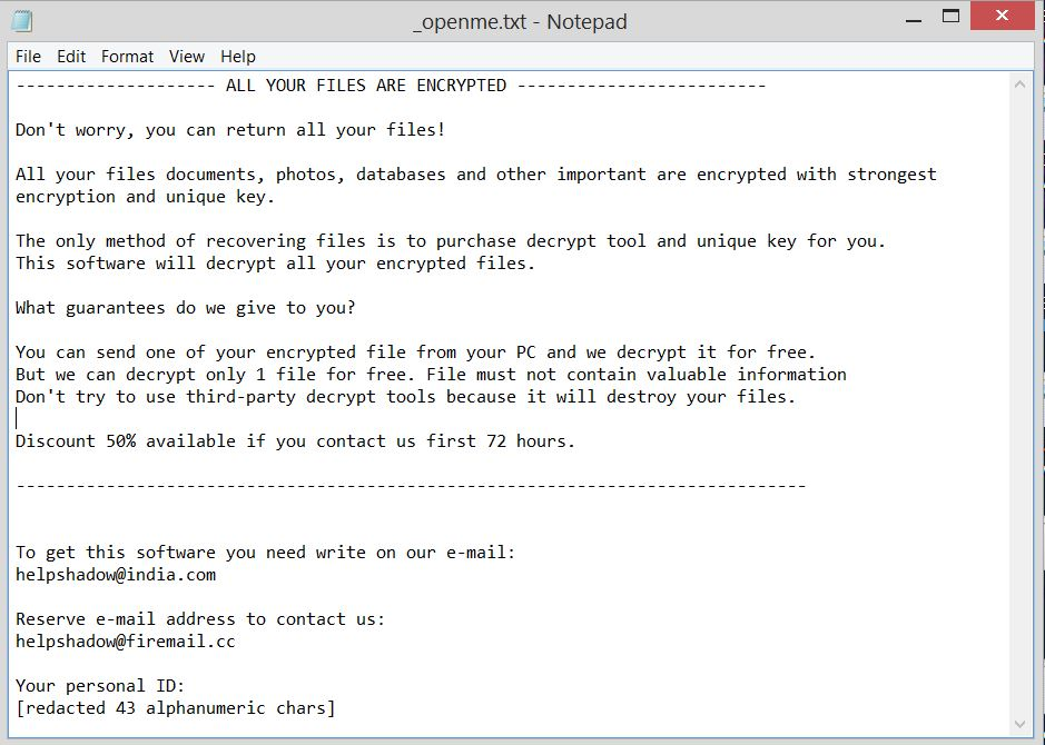 How to Obliterate Djvut Ransomware (Crypto-Malware/Ransomware)
