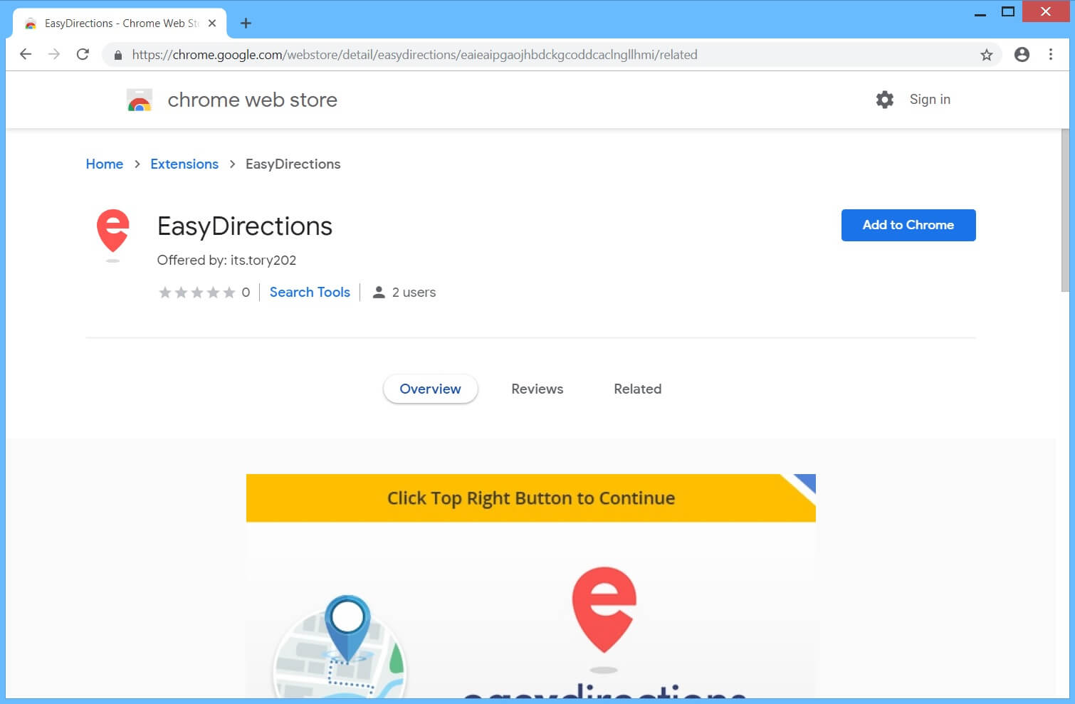 How to Remove EasyDirections.org (Browser Hijacker/PUP)