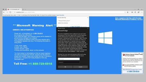 MS Warning Alert ERROR MS-SYSINFO32 thumb