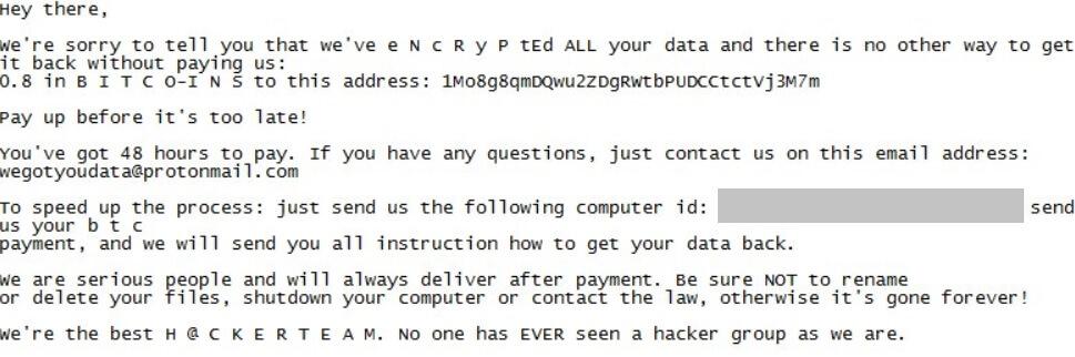 TrumpHead Ransomware