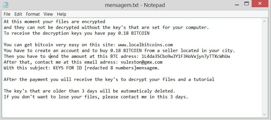 How to Terminate Vulston Ransomware (Crypto-Malware/Ransomware)
