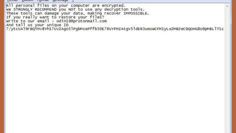 XARCryptor Ransomware thumb