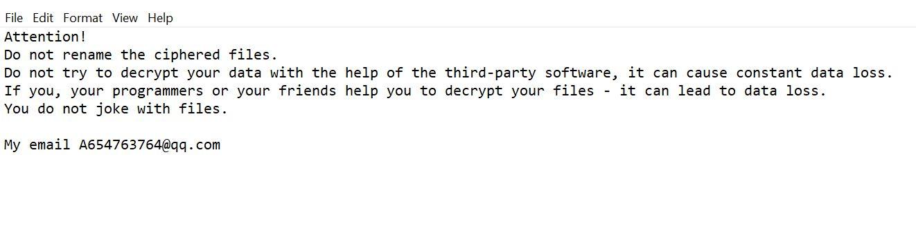 Kill Cekisan Ransomware (Crypto-Malware/Ransomware)