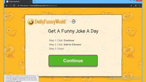 DailyFunnyWorld Toolbar Hijacker thumb