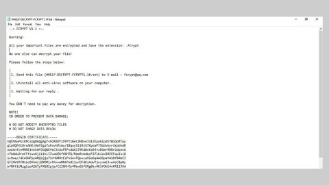 FCRYPT Ransomware thumb