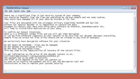 LockerGoga Ransomware thumb