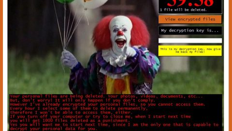 Pennywise Ransomware thumb