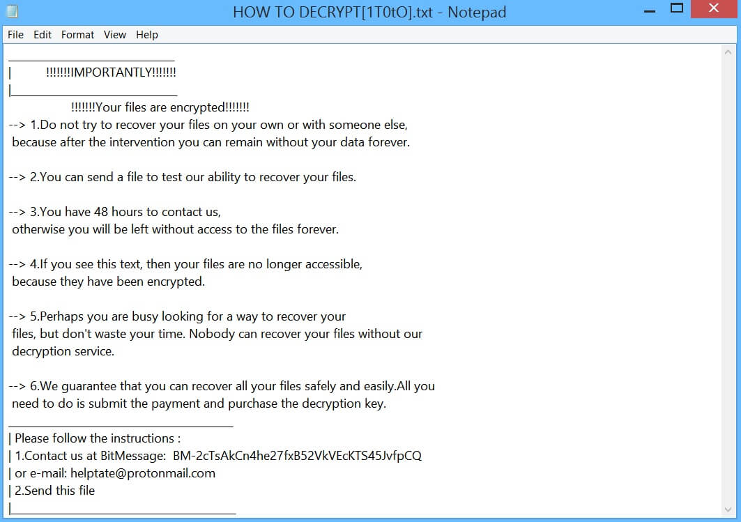 Terminate CSP Ransomware (Crypto-Malware/Ransomware)