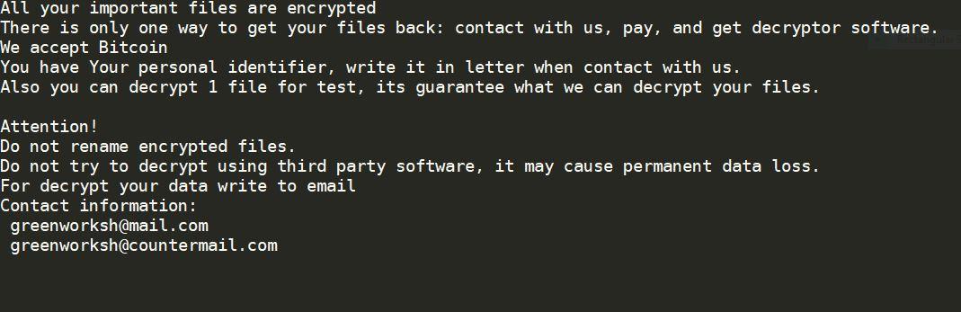 Eliminating Jamper Ransomware (Crypto-Malware/Ransomware)