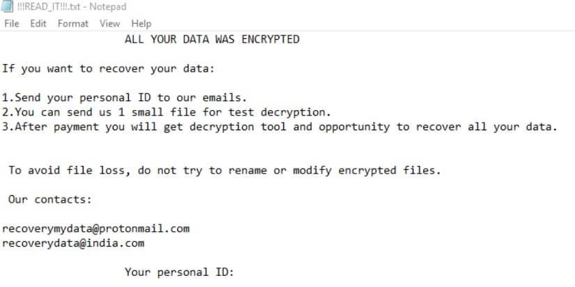 How to Terminate Mira Ransomware (Crypto-Malware/Ransomware)