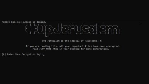 OpJerusalem Ransomware thumb