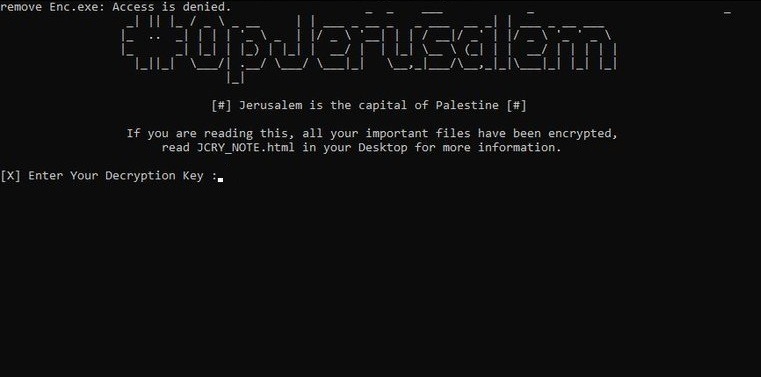 How to Eliminate OpJerusalem Ransomware (Crypto-Malware/Ransomware)