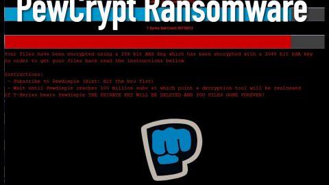 PewCrypt Ransomware thumb