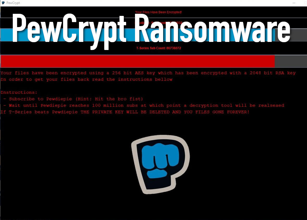 How to Eliminate PewCrypt Ransomware (Crypto-Malware/Ransomware)