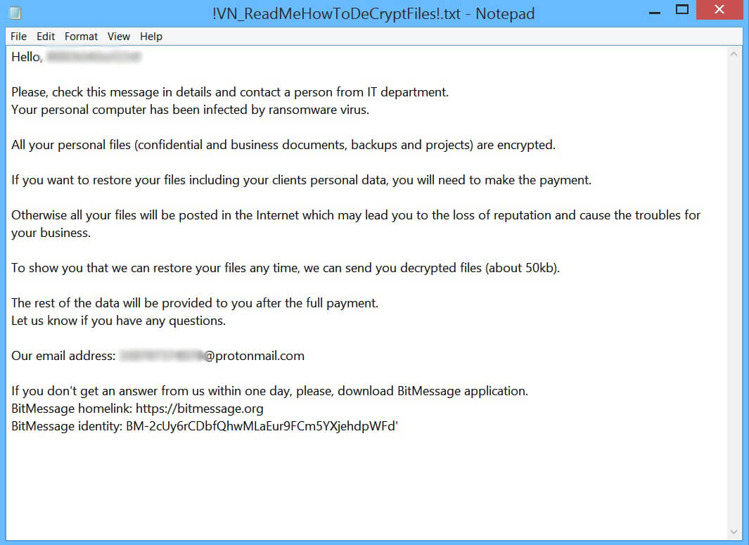 How to Obliterate Target777 Ransomware (Crypto-Malware/Ransomware)