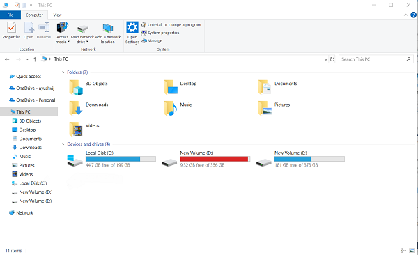 CD DVD icon is not showing in File Explorer