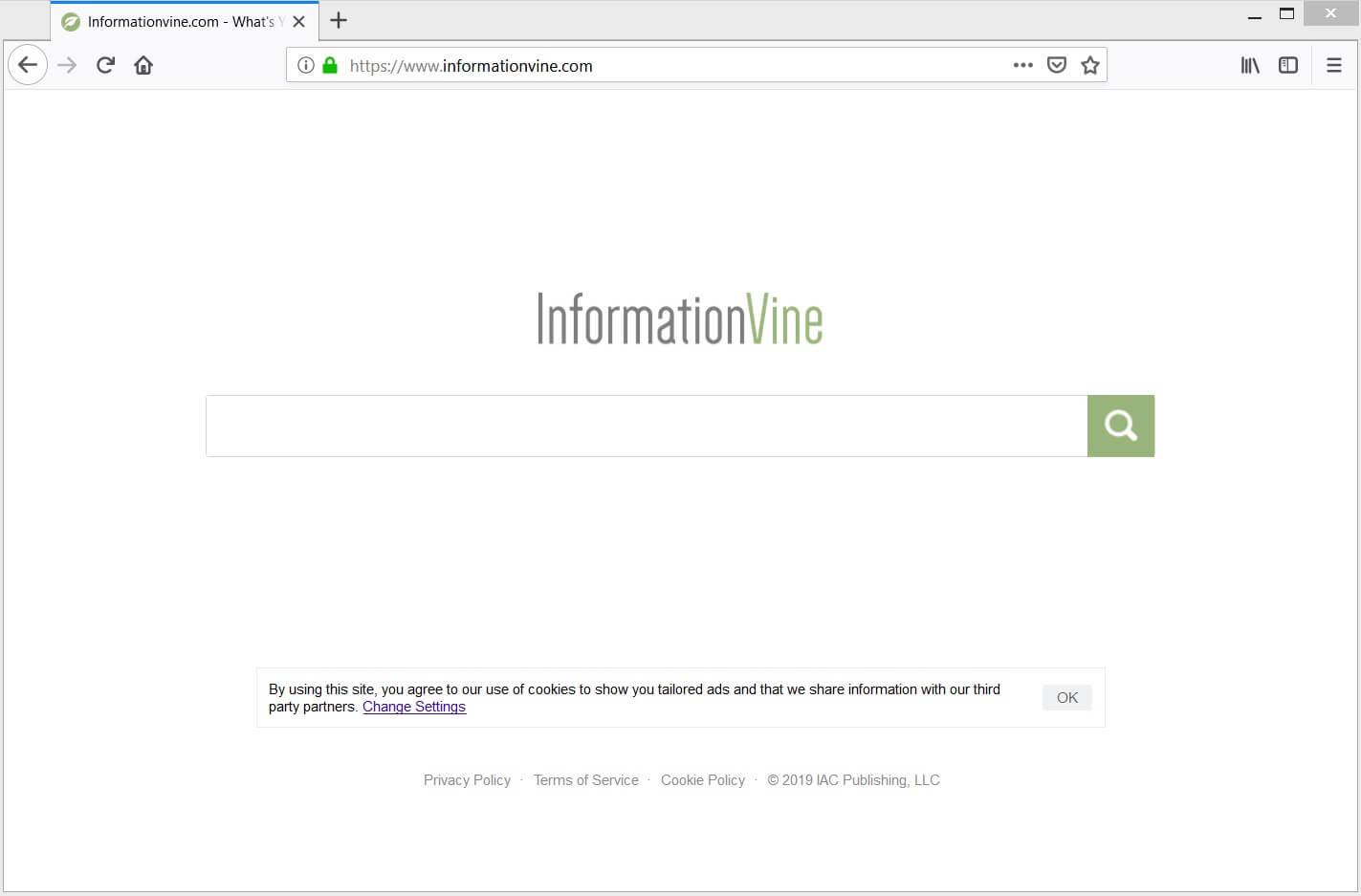 Informationvine com Hijacker