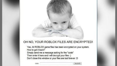 Roblocker X Ransomware thumb