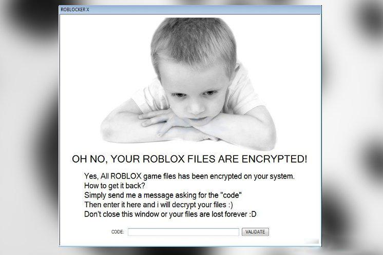Roblocker X Ransomware