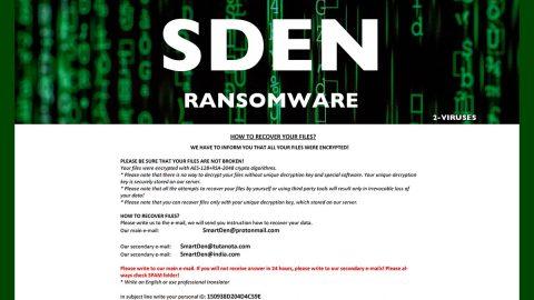 SDEN Ransomware thumb