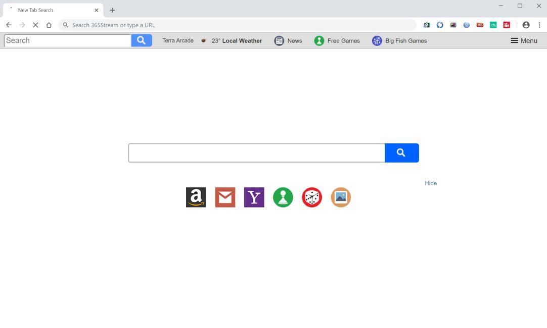 How to Erase Searchterraarcade.com (Browser Hijacker/PUP)