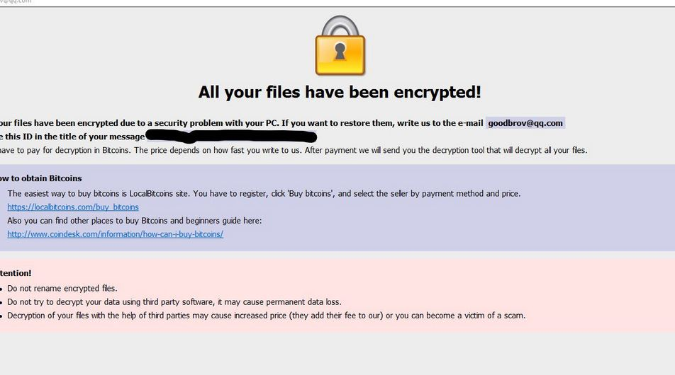 Terminating COLORIT Ransomware (Crypto-Malware/Ransomware
