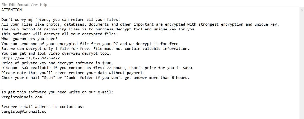 Obliterate Roldat Ransomware (Crypto-Malware/Ransomware)