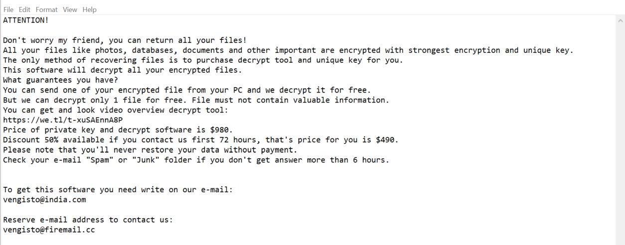 Roldat Ransomware