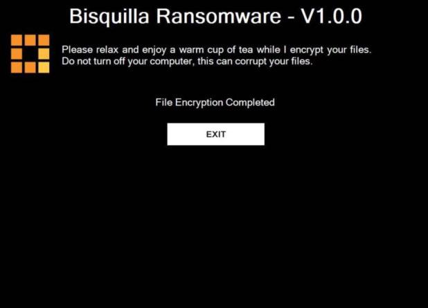 Bisquilla Ransomware