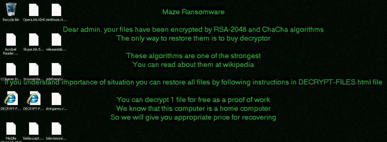 ChaCha Ransomware