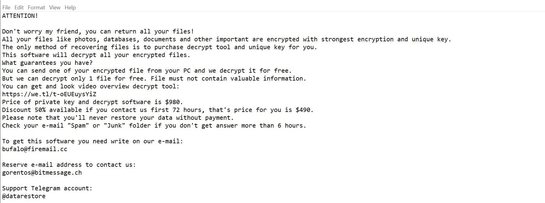 Mogera Ransomware