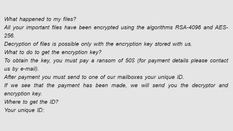ShkolotaCrypt Ransomware thumb