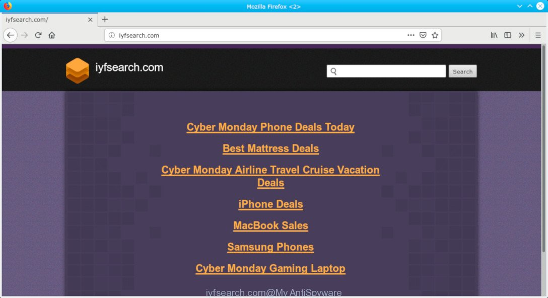 iyfsearch com Redirect