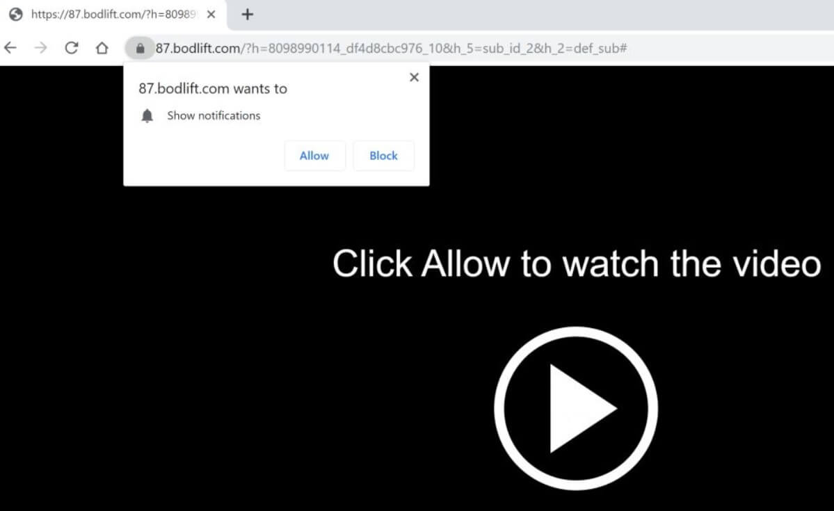 Bodlift com Redirect