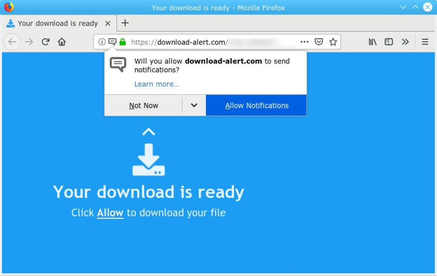 Download-alert.com Redirect