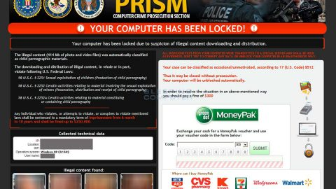 PRISM Ransomware thumb