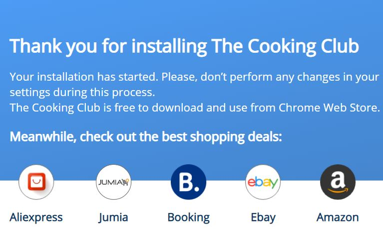 Thecooking club Redirect