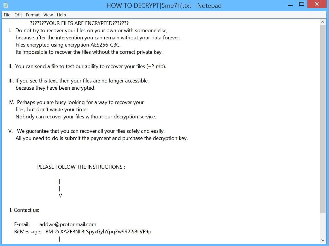Wav_list Ransomware