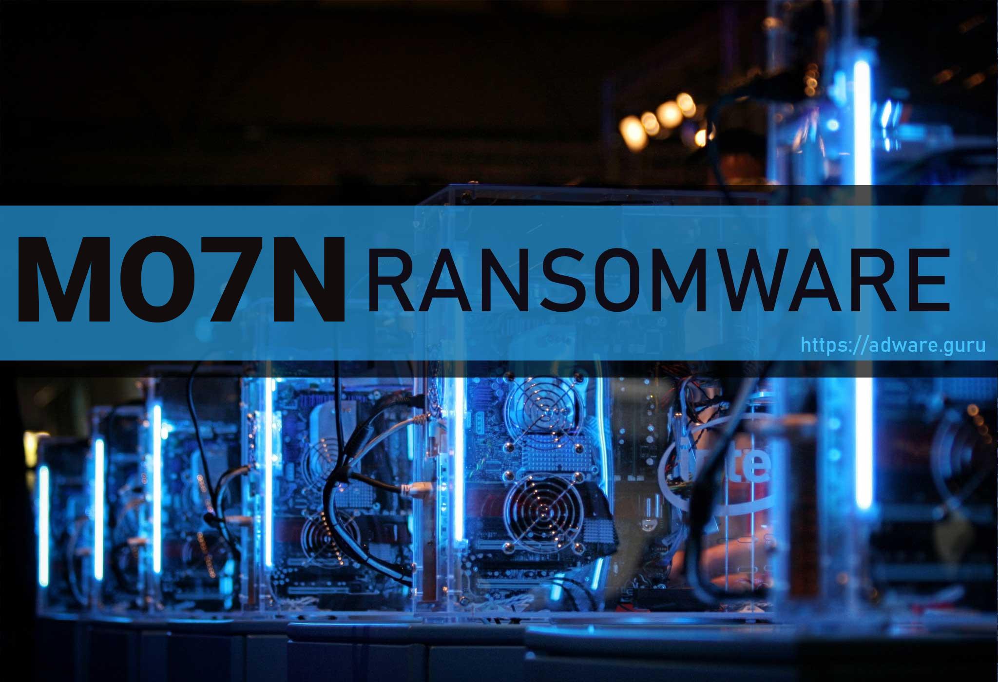 mo7n Ransomware
