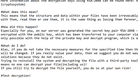 Dragon Ransomware Crypto-Malware