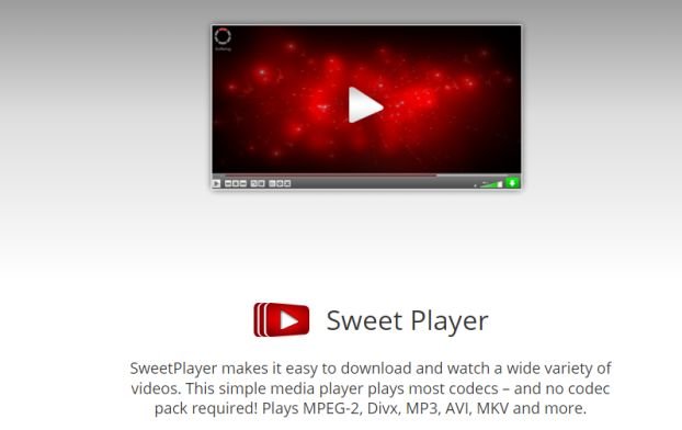 SweetPlayer Adware PUP