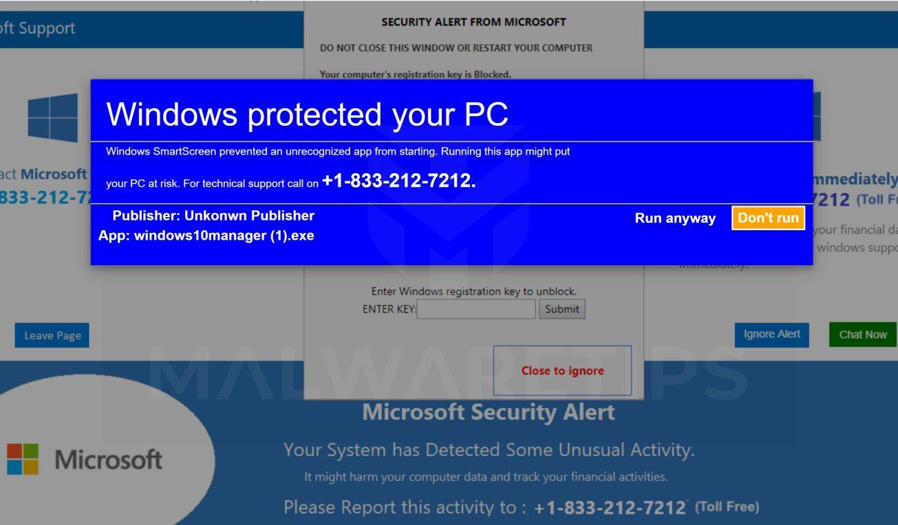 ERROR # ER36dx9832(3) Scam