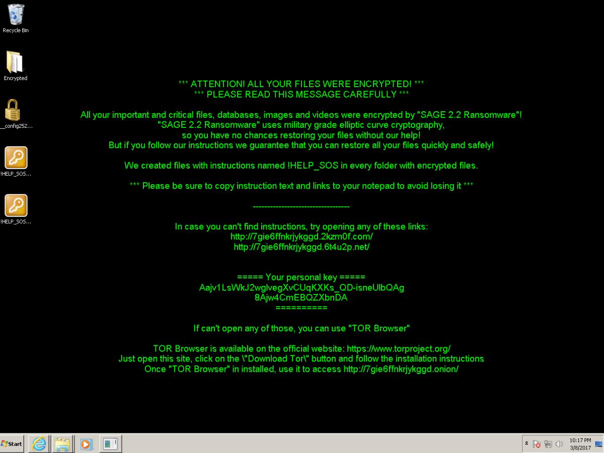 Good ransomware