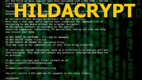 HILDACRYPT ransomware thumb