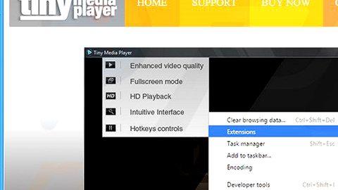 Tiny Media Player Adware thumb